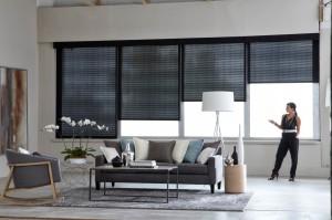 Motorized solar blinds